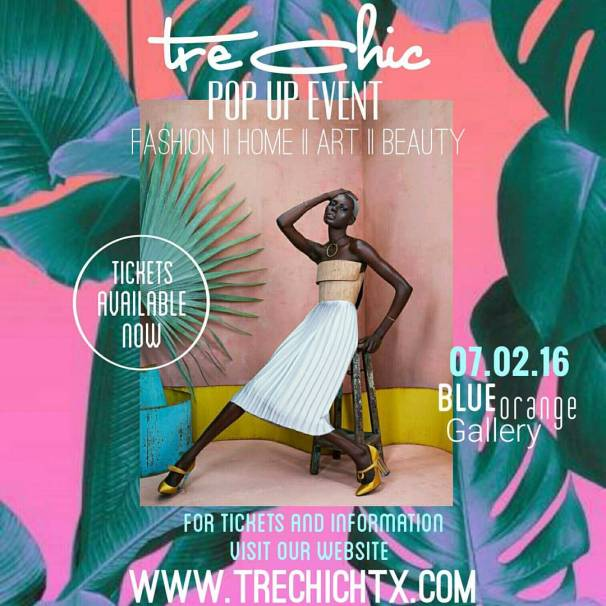 tre chic flyer