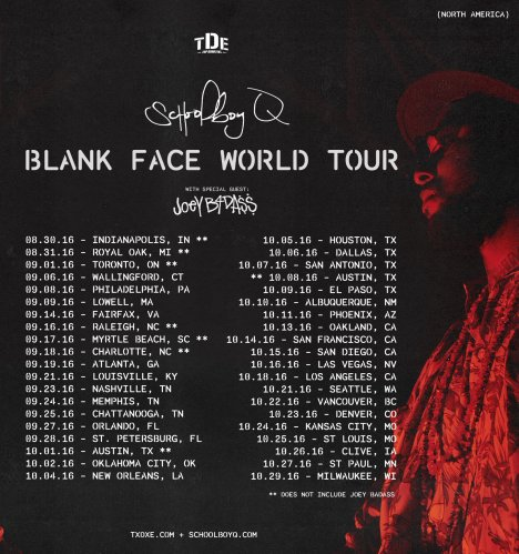blank face tour photo