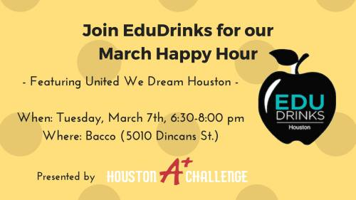 edudrinks march