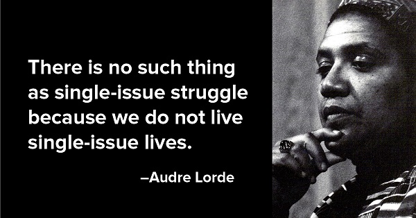 audre lorde - single issue