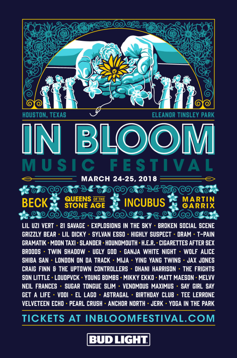 in bloom fest 2018